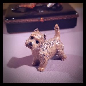 Jay Strongwater Chester Mini Dog Figurine